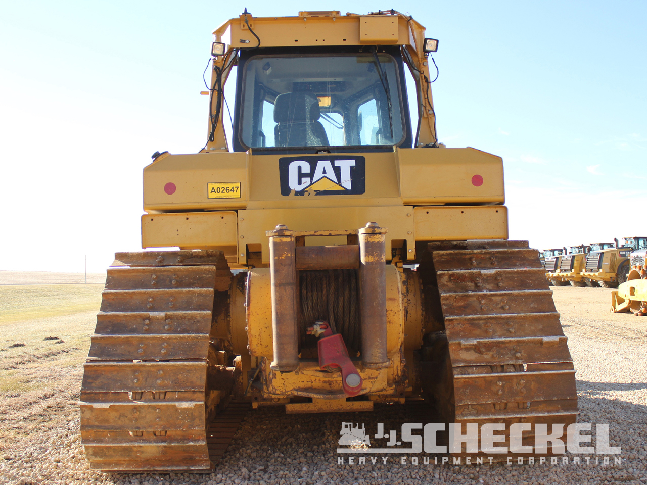 2012 Cat D6T XW, VPAT, A02647